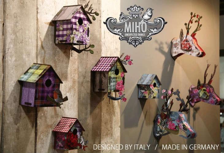 MIHO,deer,bird house