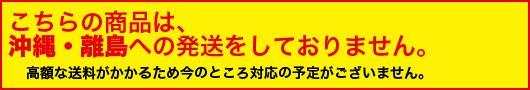 高額な送料がかかるため沖縄・離島への発送には、対応しておりません。