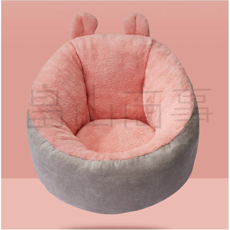 ベッド クッション 猫 キャット 小型犬 冬用 ハウス あったか ベッド クッション ペット用寝袋 保温防寒 ドーム型 ふわふわ 暖かい toshiya0912 11
