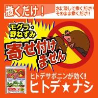 モグラ・野ねずみ対策 ヒトデ☆ナシ