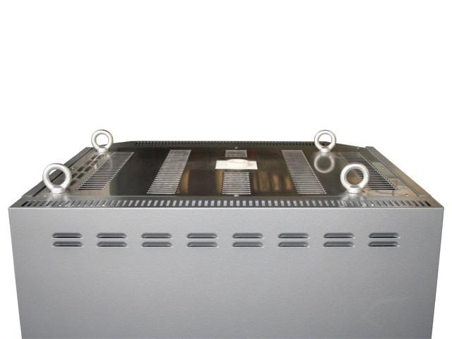 中型電気窯 DFA-06 上面を斜め上から見た画像です