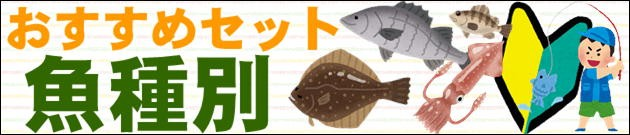おすすめセット魚種別