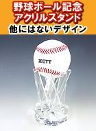 野球ボールコレクションスタンド