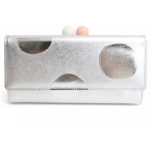 最大41%還元 ツモリチサト 財布 長財布 がま口 tsumori chisato ズームドット 57304 ツモリチサトキャリー ドット 本革 レザー 日本製|東西南北屋