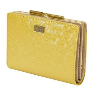 ナチュラルビューティー 財布 二つ折り財布 がま口 ガマ札入れ バッグアンドウォレット NATURAL BEAUTY BAG & WALLET 070022 シャイニードット 正規品|東西南北屋
