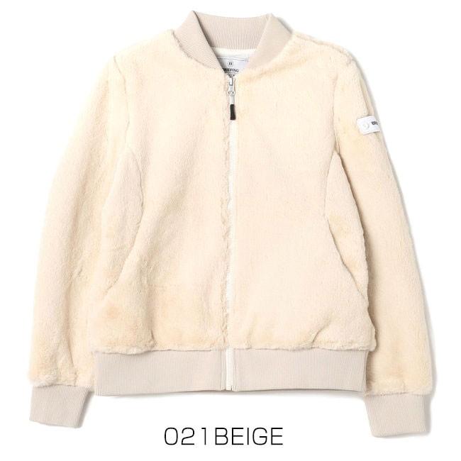 ブリーフィング ウーマンファーMA-1ジャケット BRG193W03 カラー画像