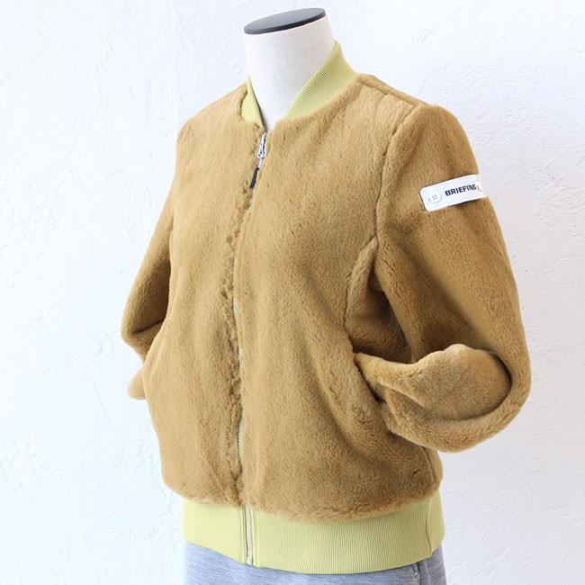 ブリーフィング ウーマンファーMA-1ジャケット BRG193W03