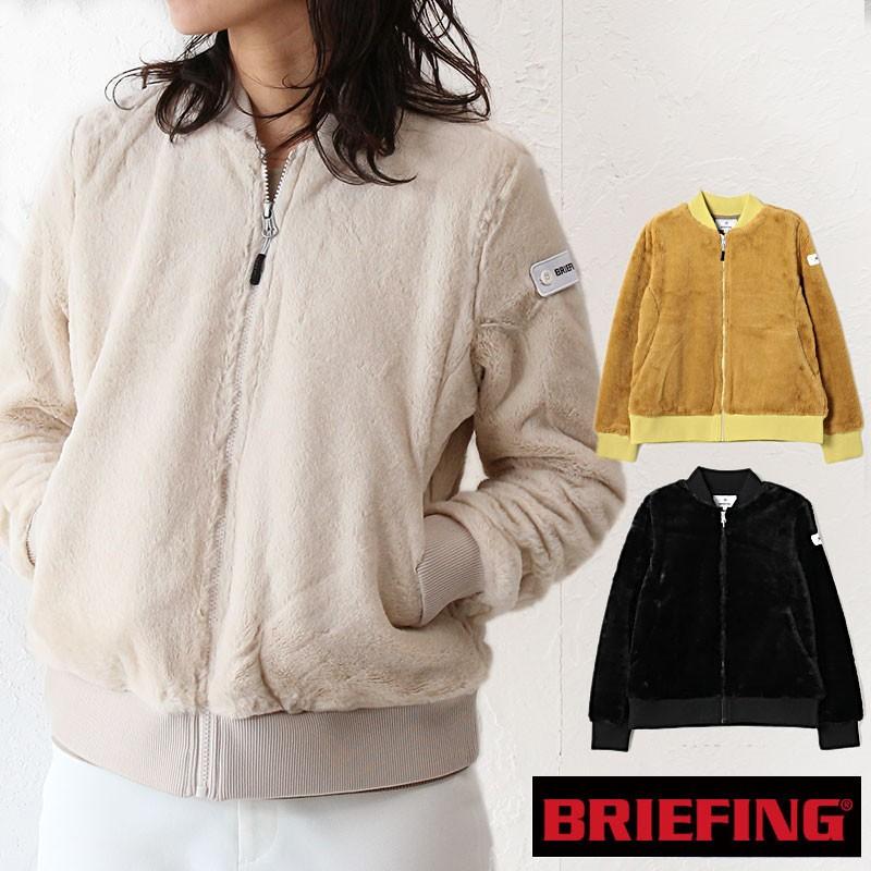 ブリーフィング ウーマンファーMA-1ジャケット BRG193W03 イメージ画像01