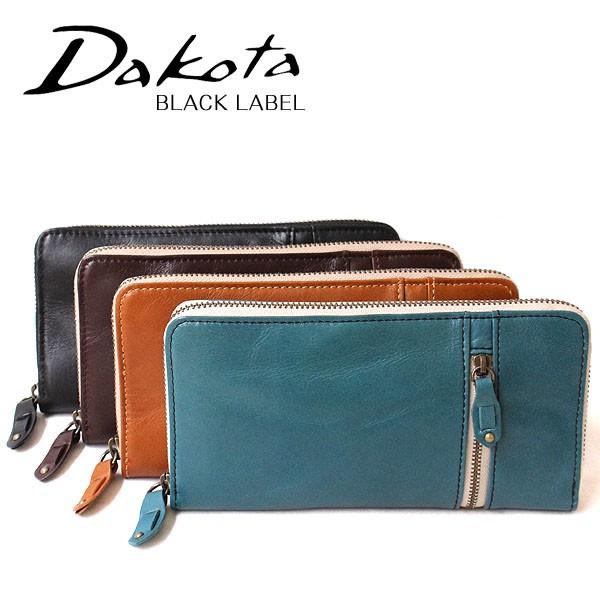 ダコタ ブラックレーベル Dakota BLACK LABEL バルバロ 牛革 長財布 623007