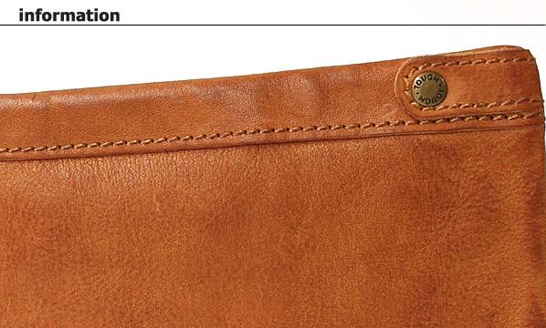 TOUGHT LEATHER WASH タフ レザーウォッシュ 二つ折財布 限定カラー キャメル info