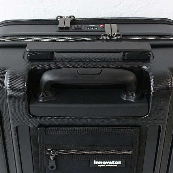 トリオ イノベーター スーツケース inv36 ディティール画像01