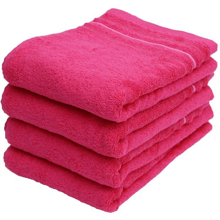 バスタオル 同色4枚セット イロイロットスマイルパーティーカラー 約60×120cm まとめ買い towelmall 08