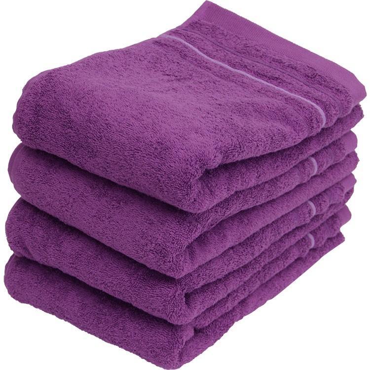 バスタオル 同色4枚セット イロイロットスマイルパーティーカラー 約60×120cm まとめ買い towelmall 10