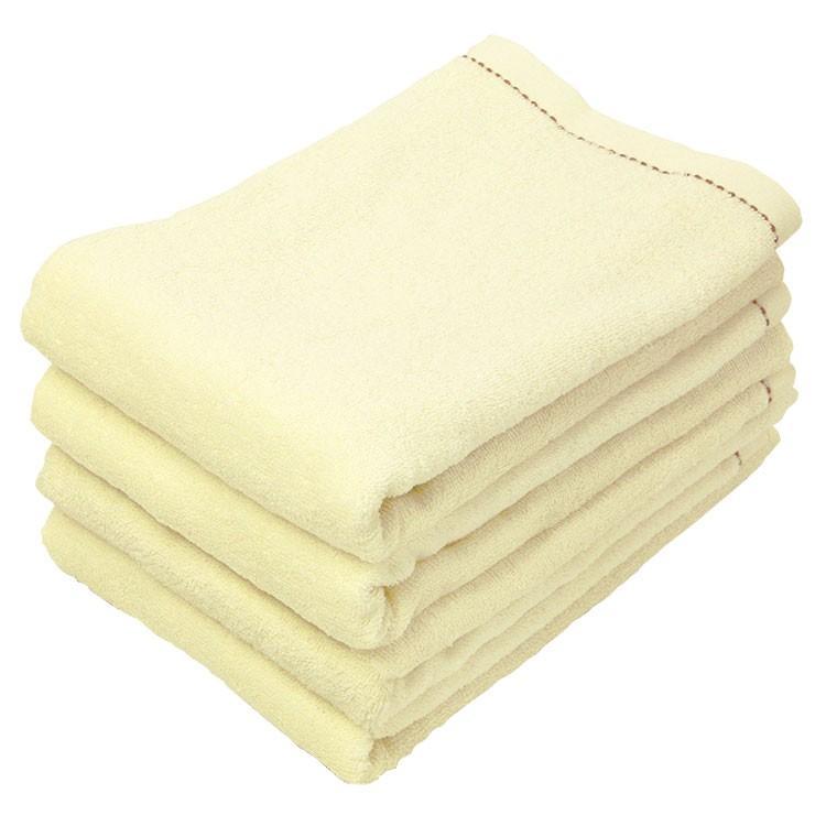 バスタオル 同色4枚セット オーガニックステッチ 約60×120cm オーガニックコットン まとめ買い towelmall 11