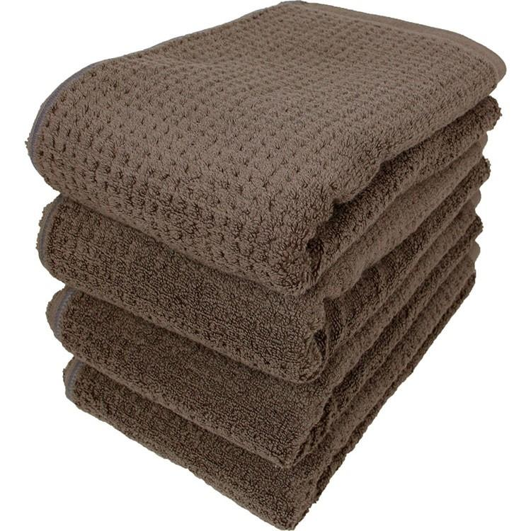 送料無料 バスタオル 同色4枚セット ファイブスクエア 約60×120cm まとめ買い towelmall 09