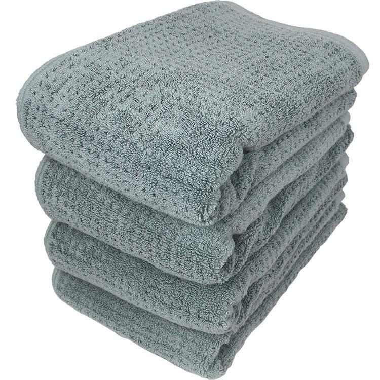 送料無料 バスタオル 同色4枚セット ファイブスクエア 約60×120cm まとめ買い towelmall 10