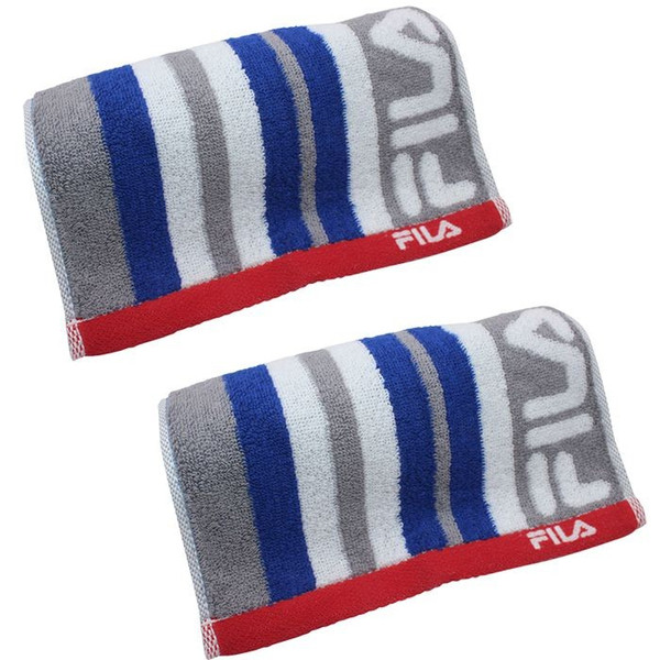 フィラ アクティブロングタオル 2枚セット レガシー 抗菌 グレー ネイビーブルー かっこいい タオル|towelra-imu|13