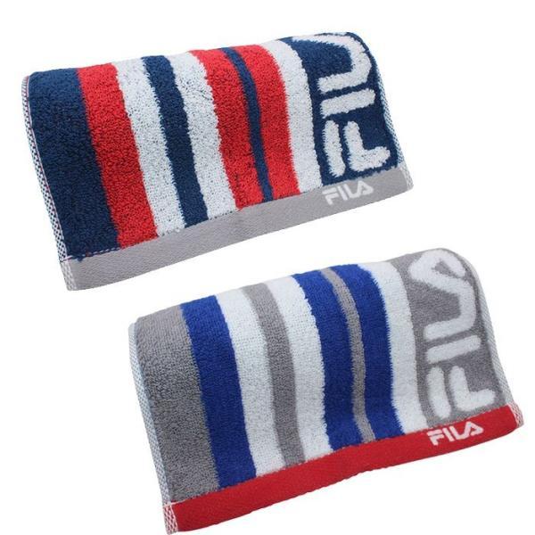 フィラ アクティブロングタオル 2枚セット レガシー 抗菌 グレー ネイビーブルー かっこいい タオル|towelra-imu|12