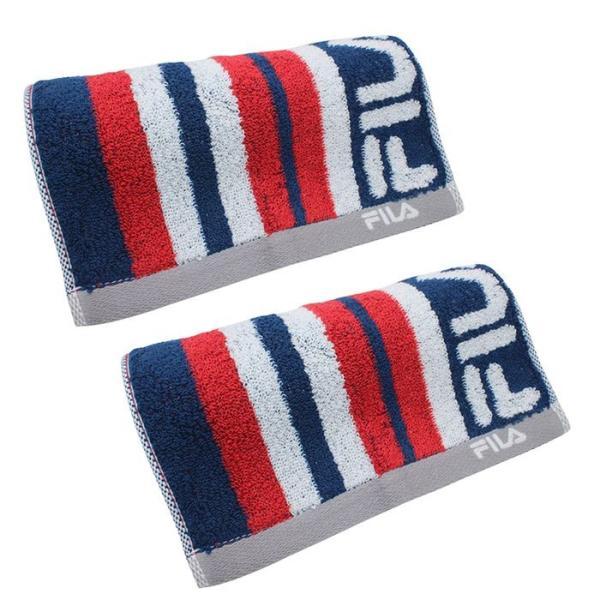 フィラ アクティブロングタオル 2枚セット レガシー 抗菌 グレー ネイビーブルー かっこいい タオル|towelra-imu|14