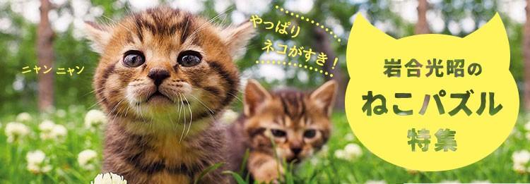 動物写真家・岩合光昭の世界のねこパズル!
