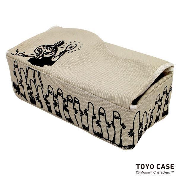 ムーミンシリーズ ティッシュケース リトルミイ ニョロニョロ アイボリー レッド 北欧 ムーミンイラスト コットン 刺繍 オシャレ|toyocase-store|08