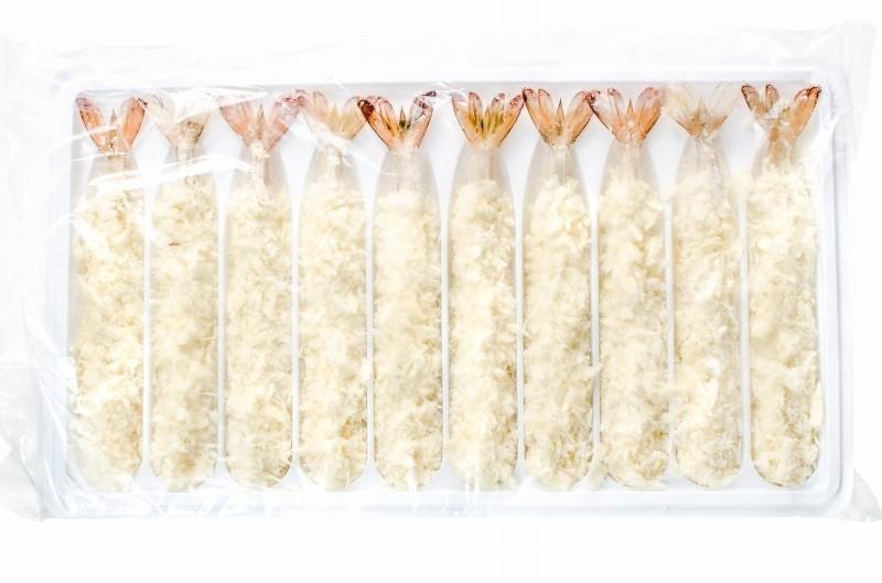 ジャンボエビフライ 冷凍パッケージ