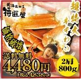 超特大本ずわい蟹