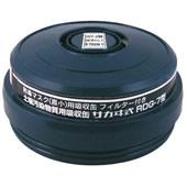 【興研】 有機ガス用吸収缶 RDG-7型 (1個) 【ガスマスク/作業】
