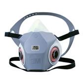 【3M/スリーエム】 防毒マスク 6000DDSR (半面形面体) 【ガスマスク/作業】
