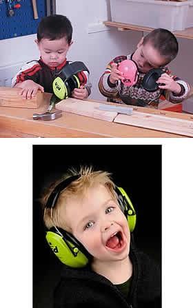子供用イヤーマフ ネオンピンク【聴覚過敏・自閉症/防音・騒音防止】
