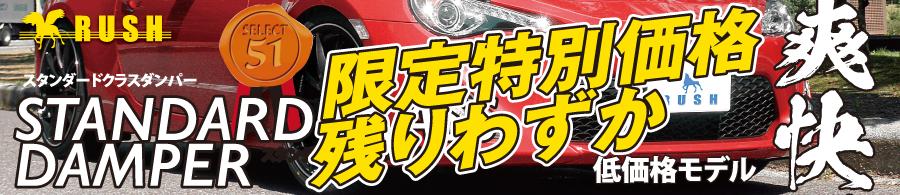 RUSH車高調-スタンダードクラス