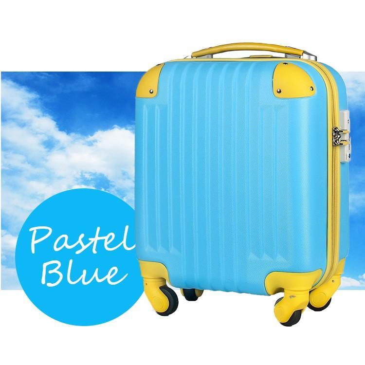 スーツケース 100席未満機内持込 超軽量 安心3年保証 コインロッカー TSAロック搭載 国内旅行  キャリーバッグ 小型 かわいい 人気 travel-depart 18