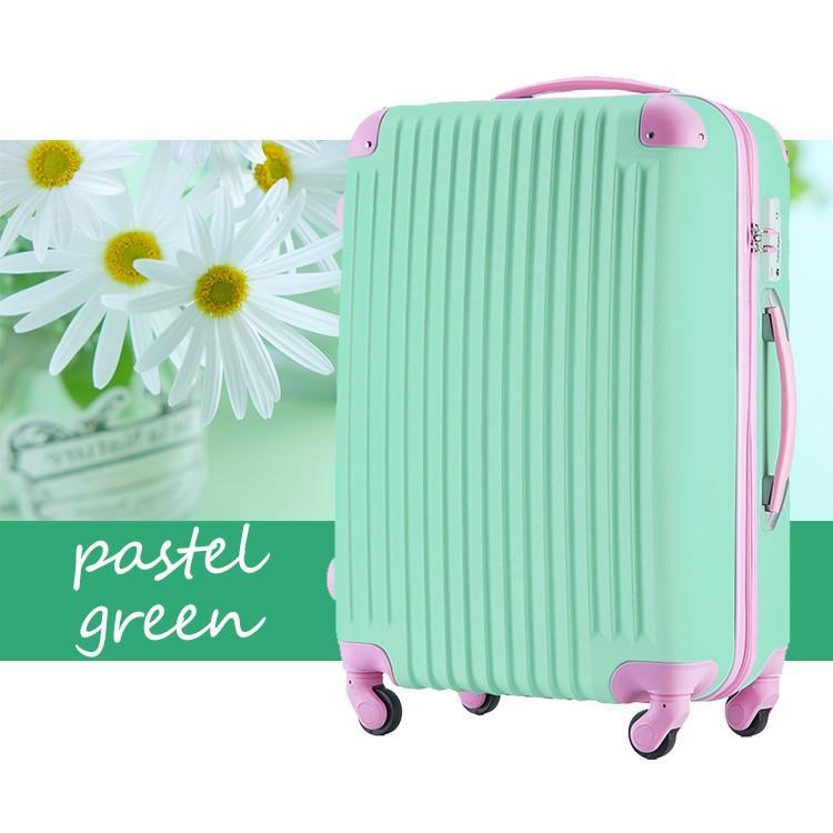 スーツケース Mサイズ キャリーケース キャリーバッグ かわいい 人気 超軽量 安心3年保証 中型 TSAロック搭載 海外旅行 送料無料|travel-depart|16