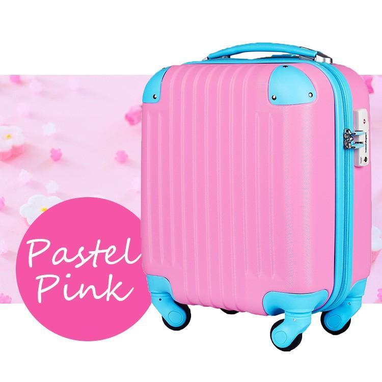 スーツケース 100席未満機内持込 超軽量 安心3年保証 コインロッカー TSAロック搭載 国内旅行  キャリーバッグ 小型 かわいい 人気 travel-depart 15