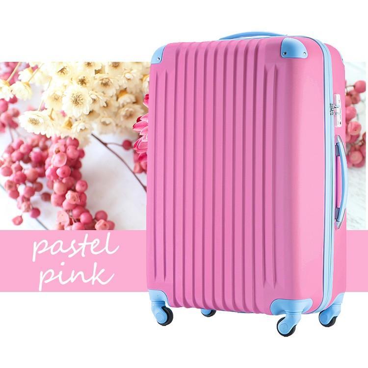 スーツケース Mサイズ キャリーケース キャリーバッグ かわいい 人気 超軽量 安心3年保証 中型 TSAロック搭載 海外旅行 送料無料|travel-depart|14