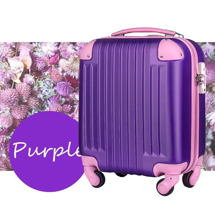 スーツケース 100席未満機内持込 超軽量 安心3年保証 コインロッカー TSAロック搭載 国内旅行  キャリーバッグ 小型 かわいい 人気 travel-depart 19