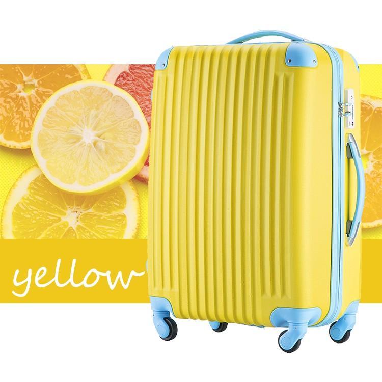 スーツケース Mサイズ キャリーケース キャリーバッグ かわいい 人気 超軽量 安心3年保証 中型 TSAロック搭載 海外旅行 送料無料|travel-depart|13