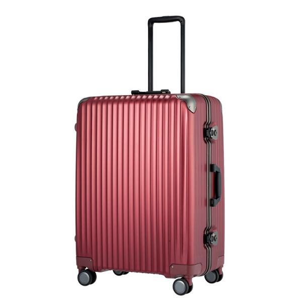 7536e77eac カーゴ ハードキャリー 66cm 大型フレームスーツケース TW72 キャリーケース 海外旅行 1週間 大