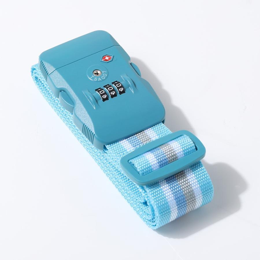 【同時購入専用商品】TSAロック搭載!おしゃれなスーツケースベルト スーツケース対応 SB791|travelworld|08