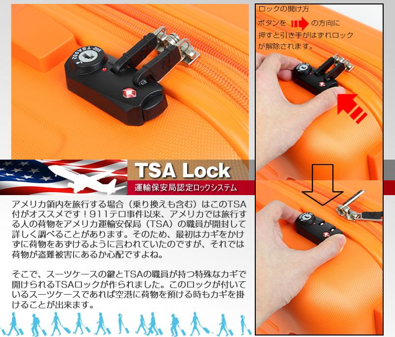 渡米必需品TSAロック