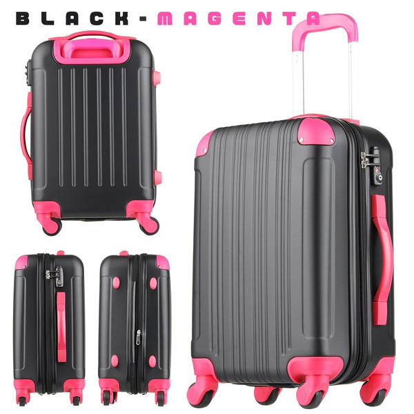 スーツケース キャリーケース キャリーバッグ トランク 小型 機内持ち込み 軽量 おしゃれ 静音 ハード ファスナー 女子 かわいい 5082-48 |travelworld|24