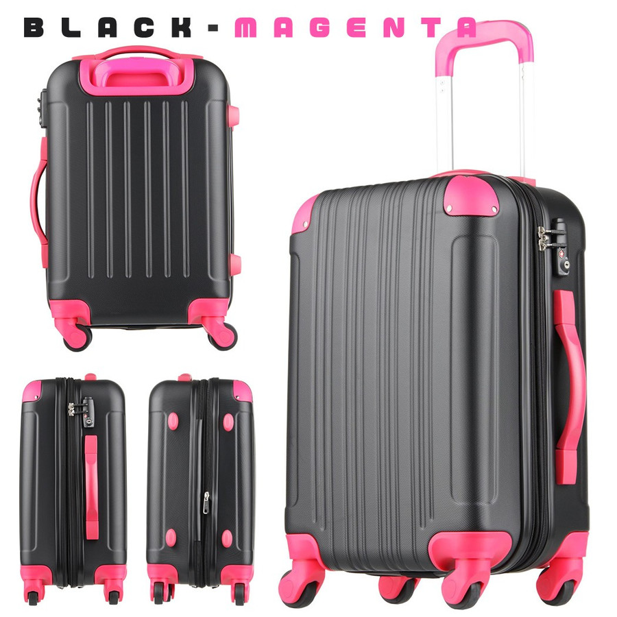 スーツケース キャリーケース キャリーバッグ トランク 小型 軽量 Sサイズ おしゃれ 静音 ハード ファスナー 拡張 5082-55|travelworld|23