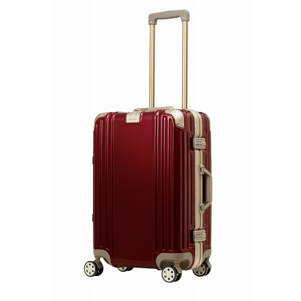 アウトレット スーツケース キャリーケース キャリーバッグ トランク 中型 軽量 Mサイズ おしゃれ 静音 ハード フレーム ビジネス 8輪 B-5509-57 travelworld 19