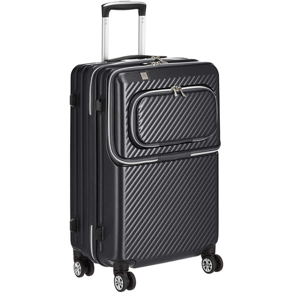 アウトレット スーツケース キャリーケース キャリーバッグ トランク 小型 機内持ち込み 軽量 おしゃれ 静音 ファスナー ビジネス パソコン収納 B-6024-48|travelworld|07