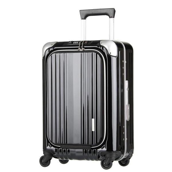 スーツケース キャリーケース キャリーバッグ トランク 機内持ち込み 軽量 おしゃれ 静音 ハード フレーム フロントオープン W4-6203-50|travelworld|18