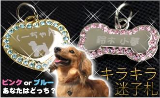 キラキラ☆アクセサリー迷子札