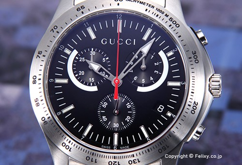 2f9d5d737b7c 【GUCCI】 グッチ 腕時計 G-Timeless Chronograph (G-タイムレス クロノグラフ)