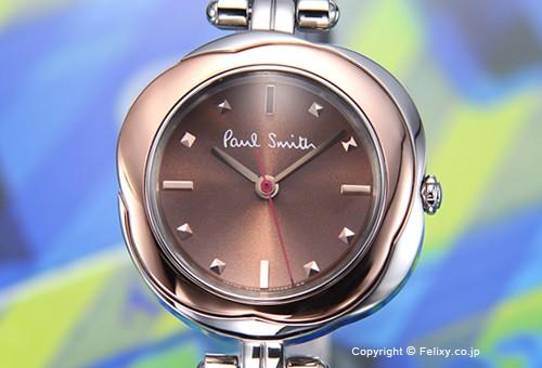 【PAUL SMITH】ポールスミス 腕時計 Primrose (プリムローズ) ブラウン×ローズゴールド レディス BG3-431-93