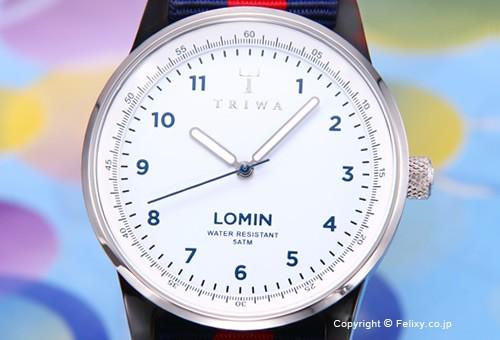 【TRIWA】トリワ 腕時計 Kind Of Blue Lomin (カインド オブ ブルー ロミン) リボンベルトバージョン LOAC103