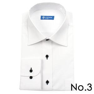 ストレッチシャツ メンズ ビジネス ノーアイロン 長袖 ストレッチ ワイシャツ Yシャツ 形態安定 形状記憶 ボタンダウン レギュラー|tresta|13